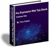 Any Expression Web Tips Ebook.