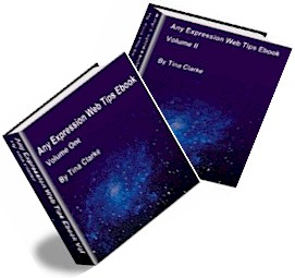 Expression Web Tips Ebooks Vol l and Vol ll